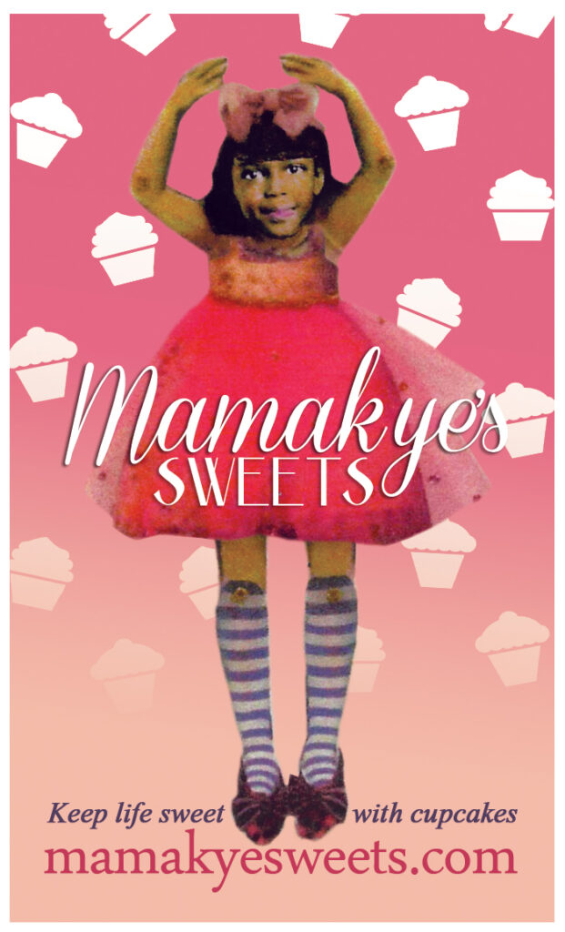 Mamakye Business Card Front