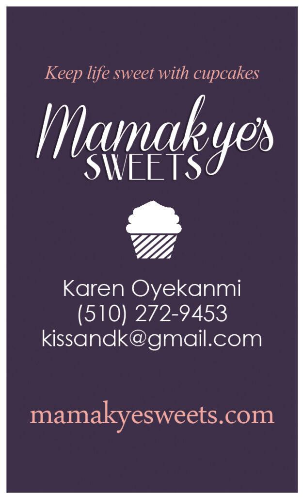 Mamakye Business Card Back