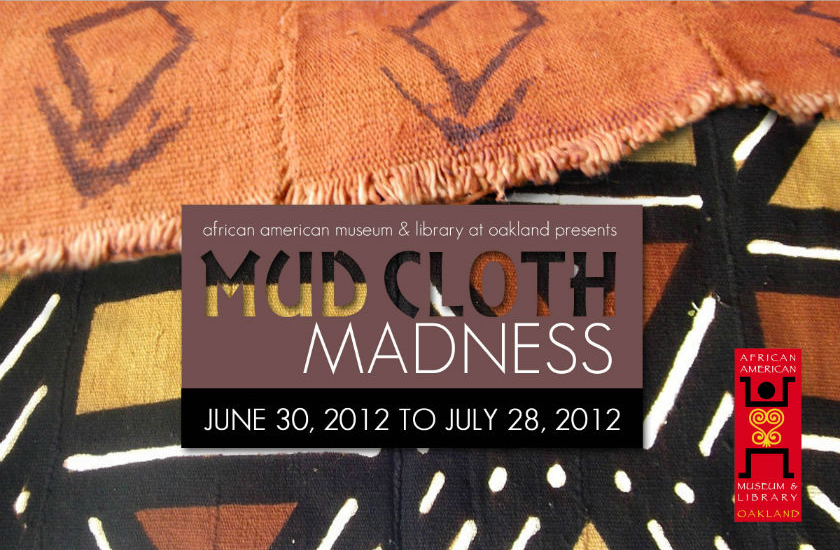 Mud Cloth Postcard Front