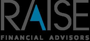 raise logo blue