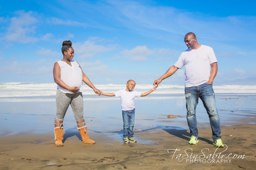 Ocean Beach Family Portraits